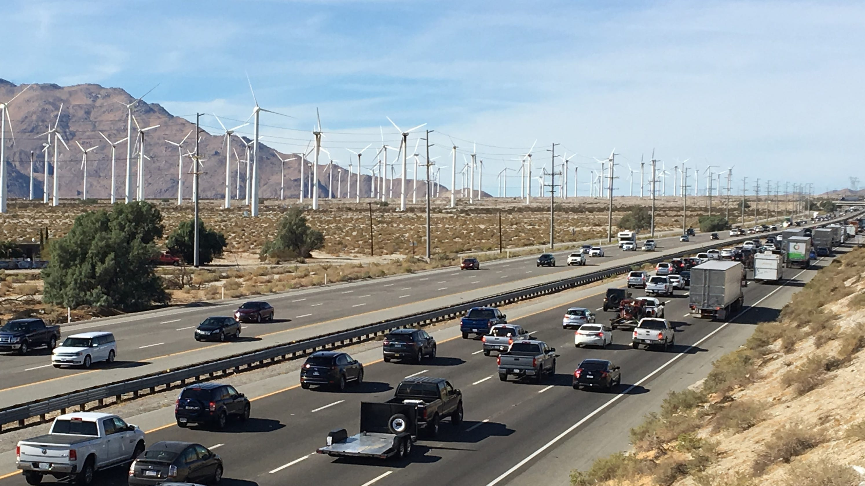 Thanksgiving was over,here's how bad traffic was on Interstate 10