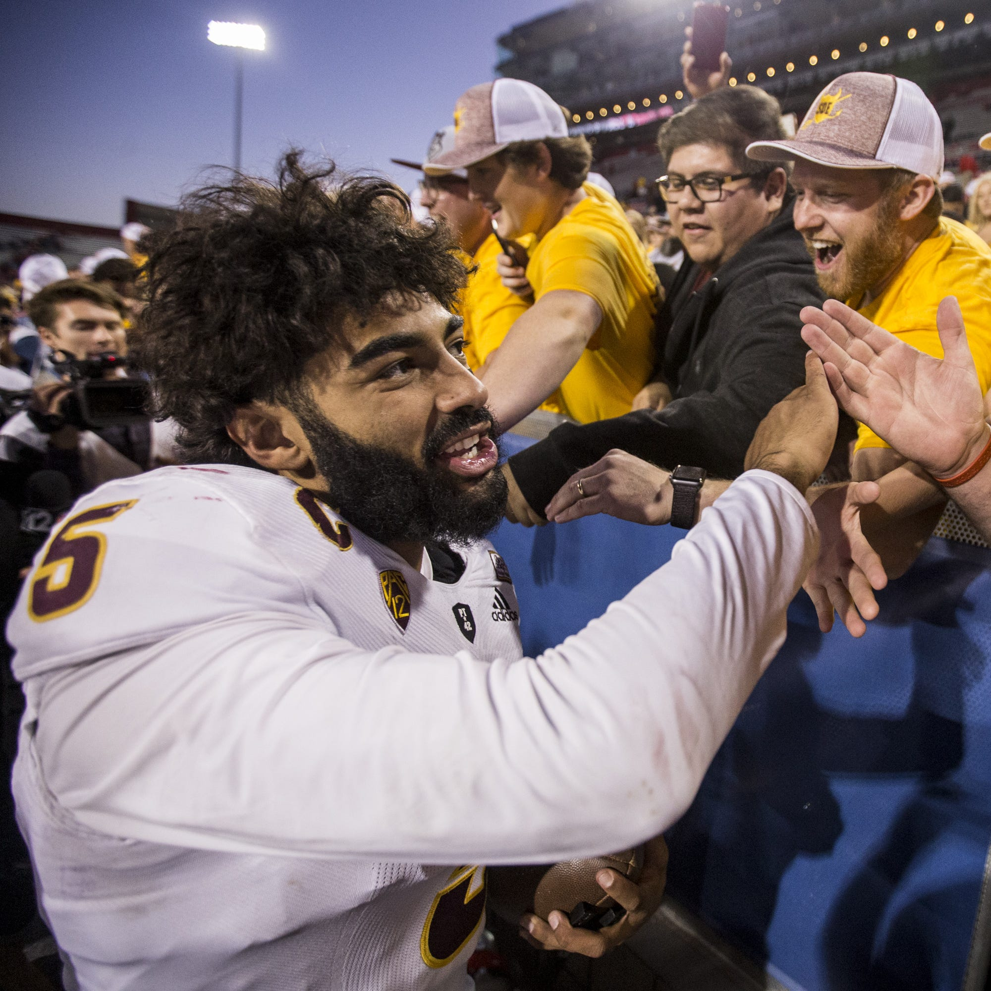 The Las Vegas Bowl will end college career of QB Manny Wilkins