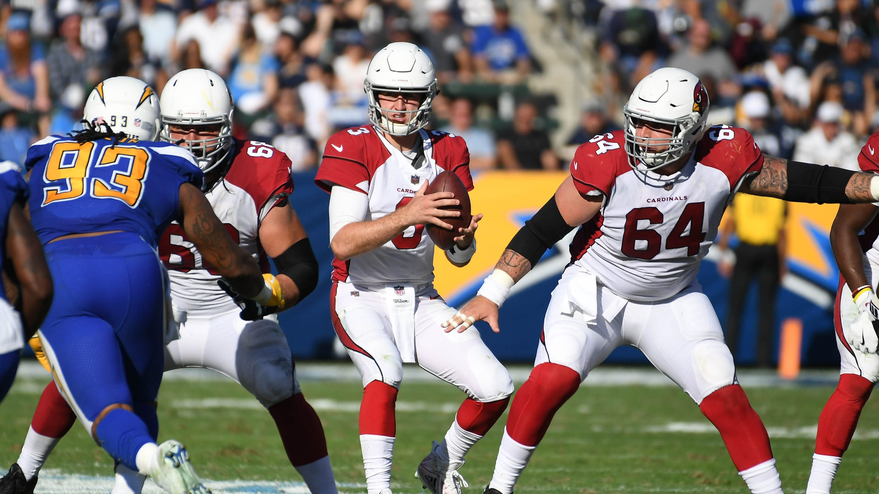 Cardinals  Josh Rosen readying for match-up with mentor Aaron Rodgers in  Green Bay ae50817c8