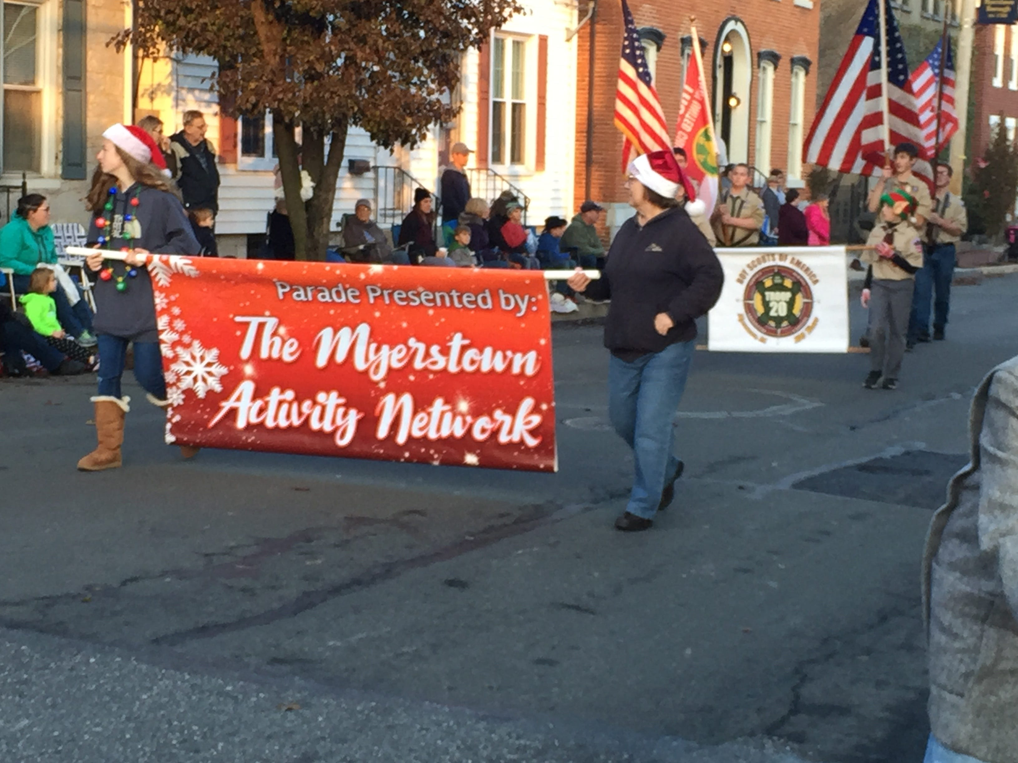 The 2018 Myerstown Holiday  Parade was held Sunday, Nov. 25, 2018 in the jam-packed streets of Myerstown.