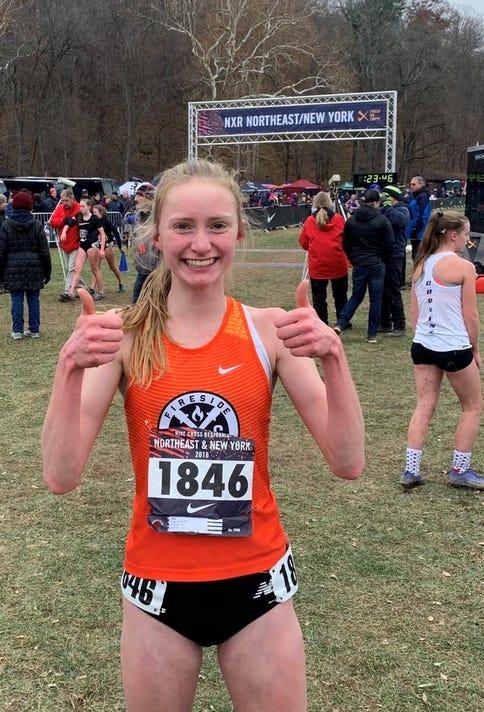 Sarah Trainor Nike Cross Country Regional