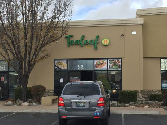 Tealeaf Café, across from the South Reno Target, serves bubble teas and other drinks, as well as a small menu of snacks, including noodle bowls.
