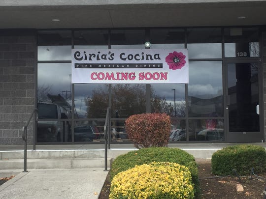 Ciria's Cocina is planned for the Lakeside Drive space once occupied by A Taste of Thai.