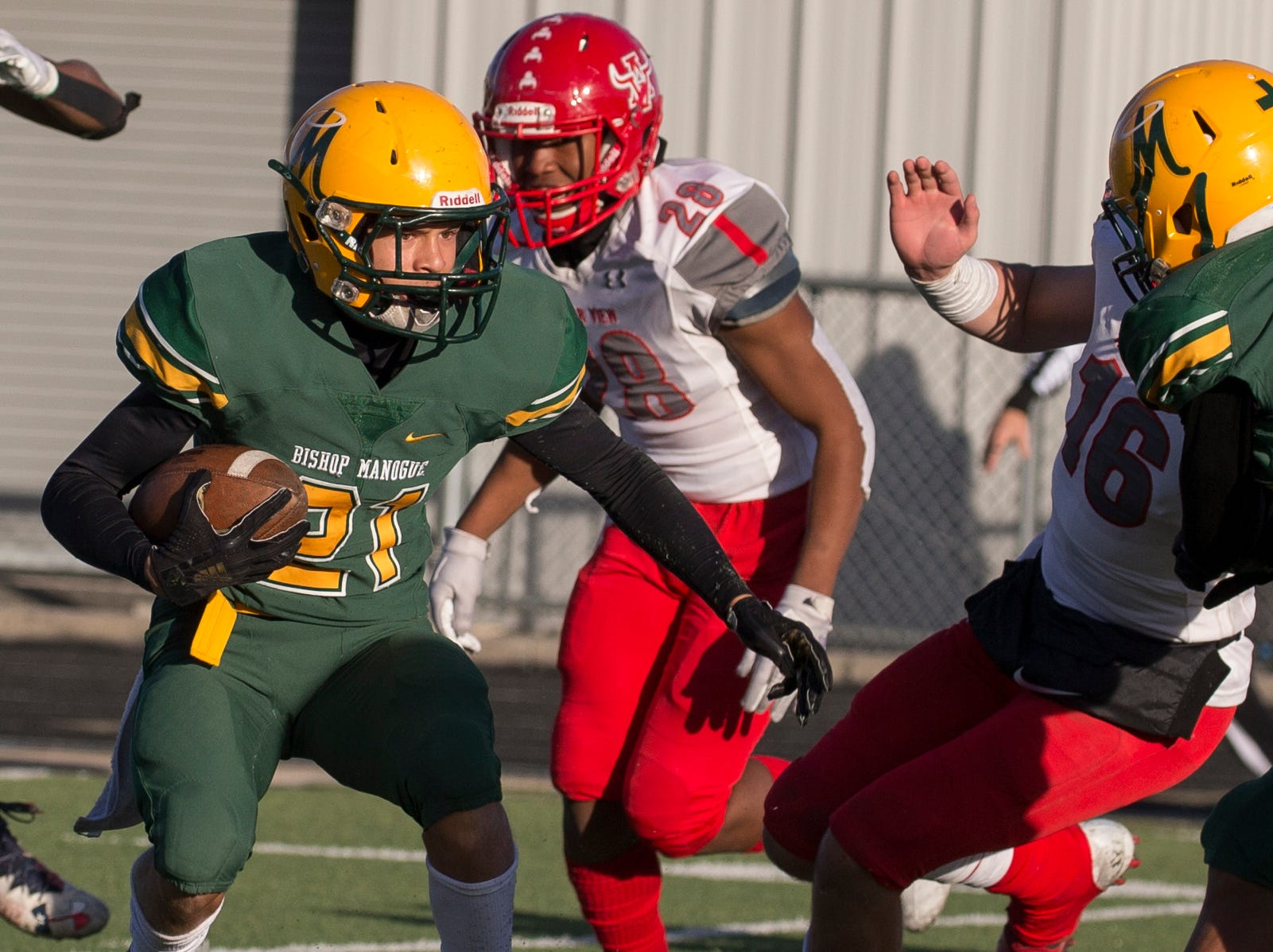 Photos from Arbor View vs Bishop Manogue football playoff game