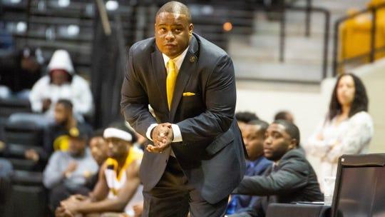 Grambling coach Donte Jackson
