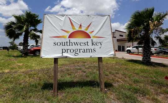 This June 20, 2014 file photo shows the Southwest Key-Nueva Esperanza, in Brownsville, Texas, a facility that shelters unaccompanied immigrant children.
