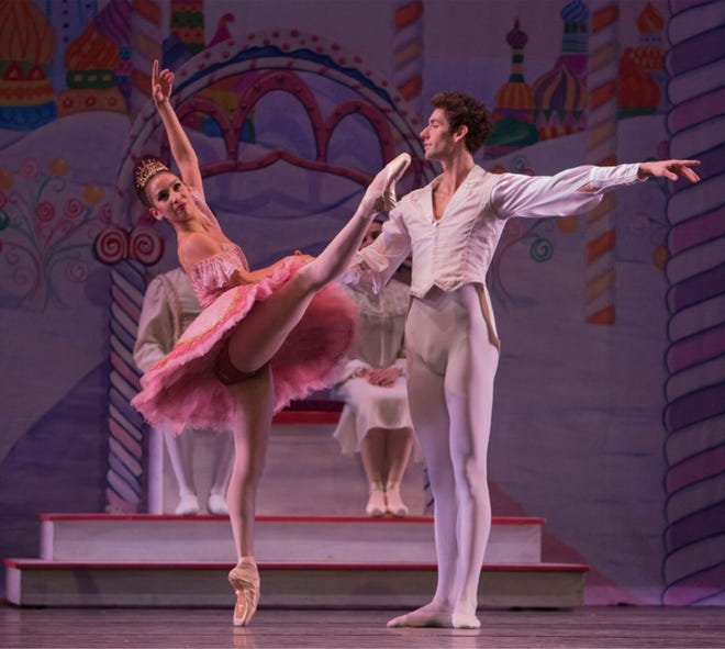 """Guest Artists Maizyalet Velazquez and Luca De-Poli of The Cincinnati Ballet will perform in Tallahassee Ballet's production of """"The Nutcracker."""""""