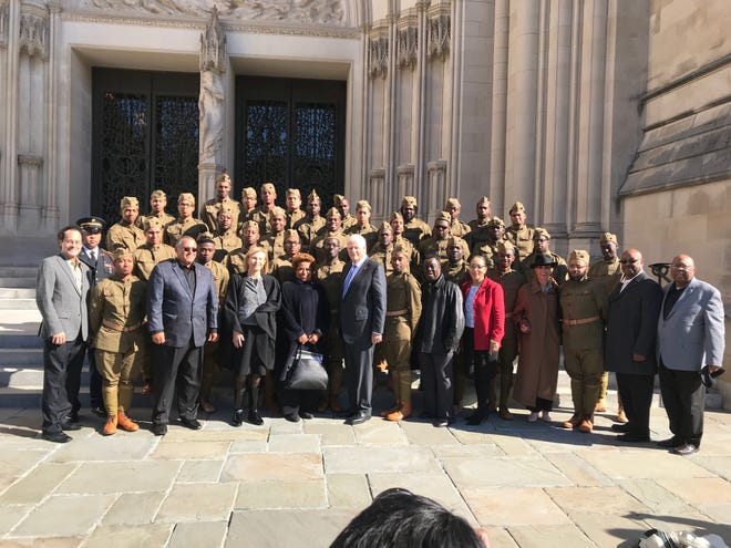 In honor of the 100th anniversary of the World War I Armistice, a recreation of the 369th Regimental Band made up of students from historically black colleges played a tribute to the Harlem Hell Fighters in Washington, D.C.