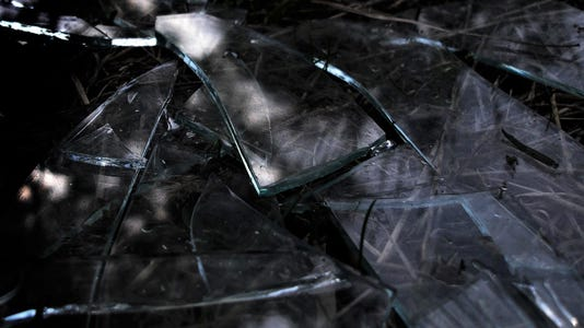 #stockphoto broken glass