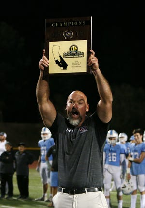 After turning Grace Brethren into a powerhouse footballl program, Josh Henderson has been hired as the head coach/associate athletic director at Immanuel Schools in Reedley.