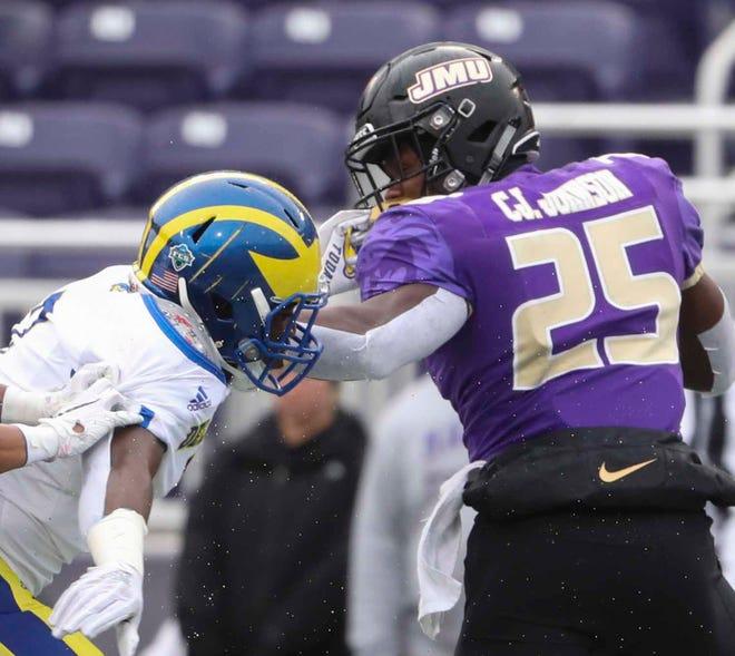James Madison University suspended its fall football season Friday.