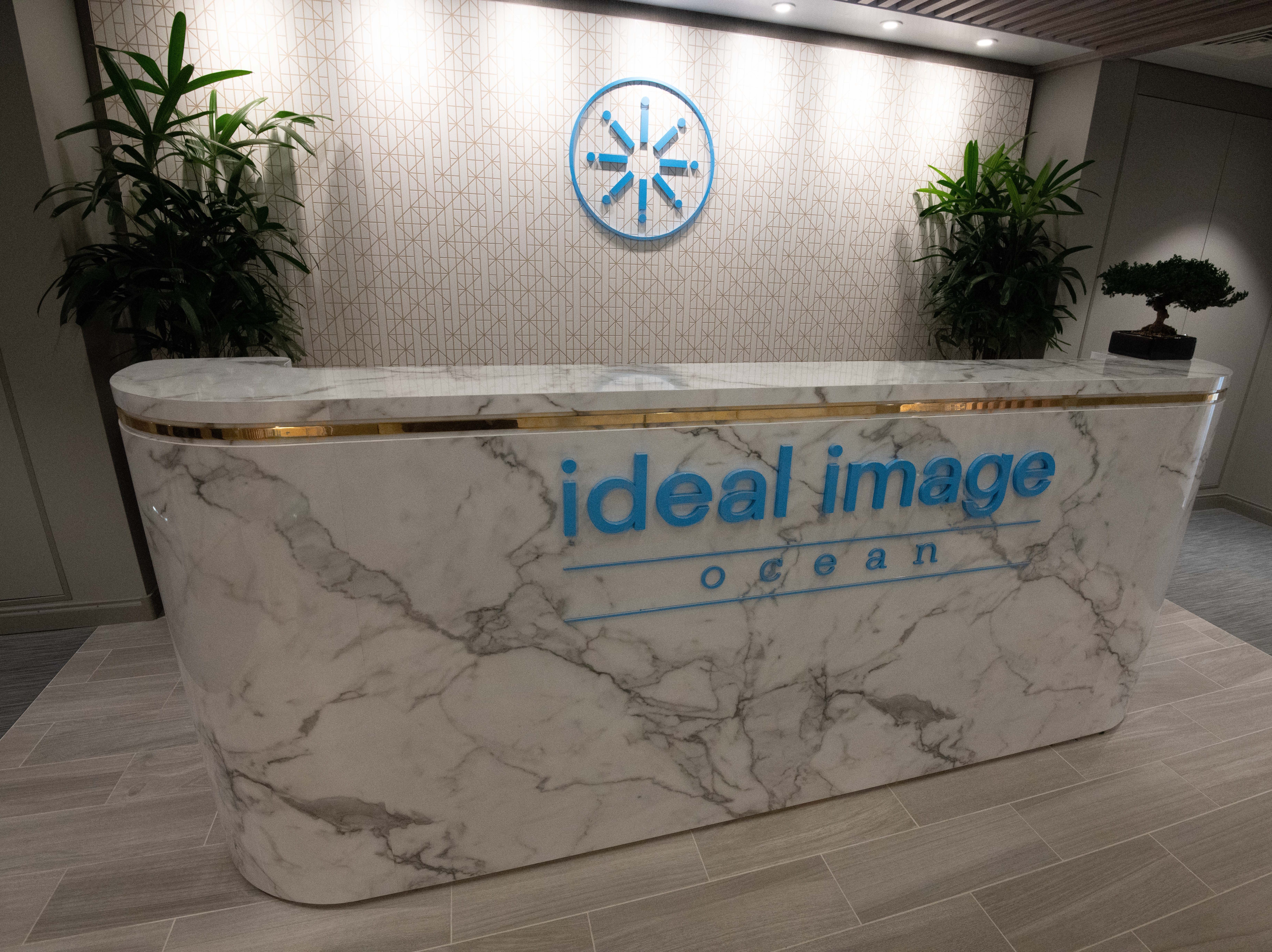 The Spa on Celebrity Edge offers more than 120 treatments, including 15 medical services from Ideal Image Ocean, The Advanced MedSpa. Ideal Image Ocean has a separate entry area.