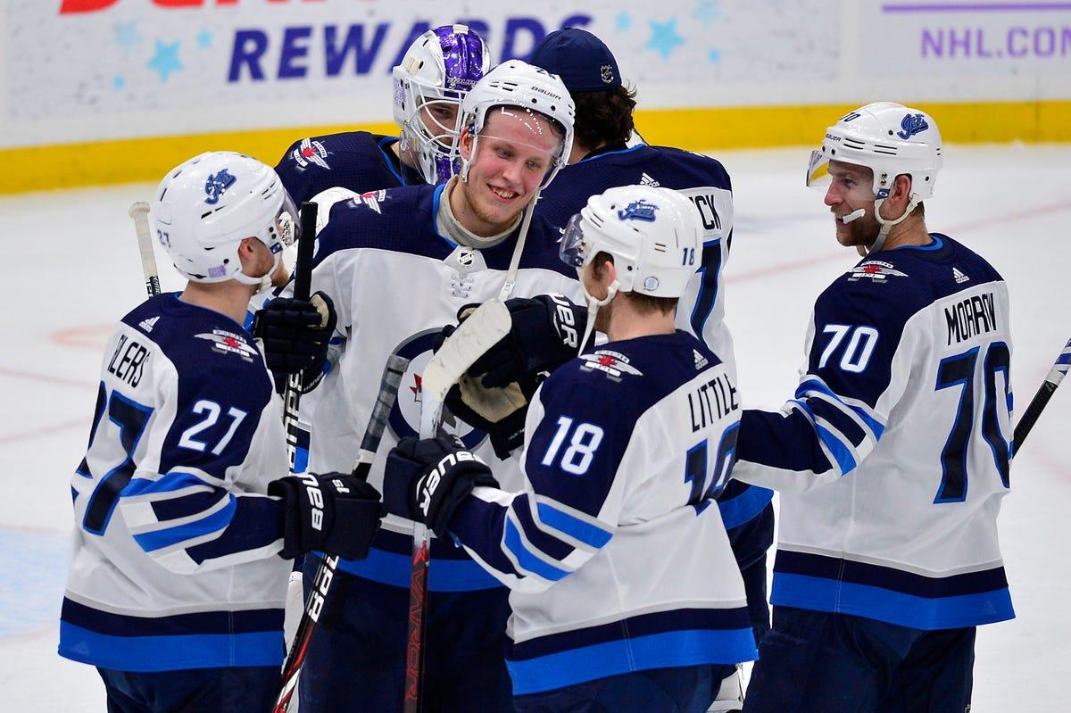 best service 99f0b 67ddc NHL: Patrik Laine's historic night wins fan $1 million