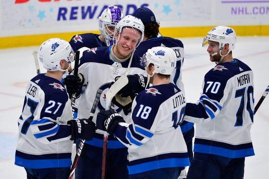 Usp Nhl Winnipeg Jets At St Louis Blues S Hkn Stl Wpg Usa Mo