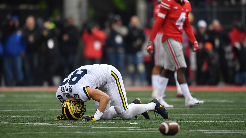 Ohio State Michigan Tops College Football Winners And Losers Of Week 13