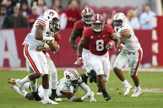 Alabama Uses Second Half Blitz Against Auburn To Roll In Iron Bowl