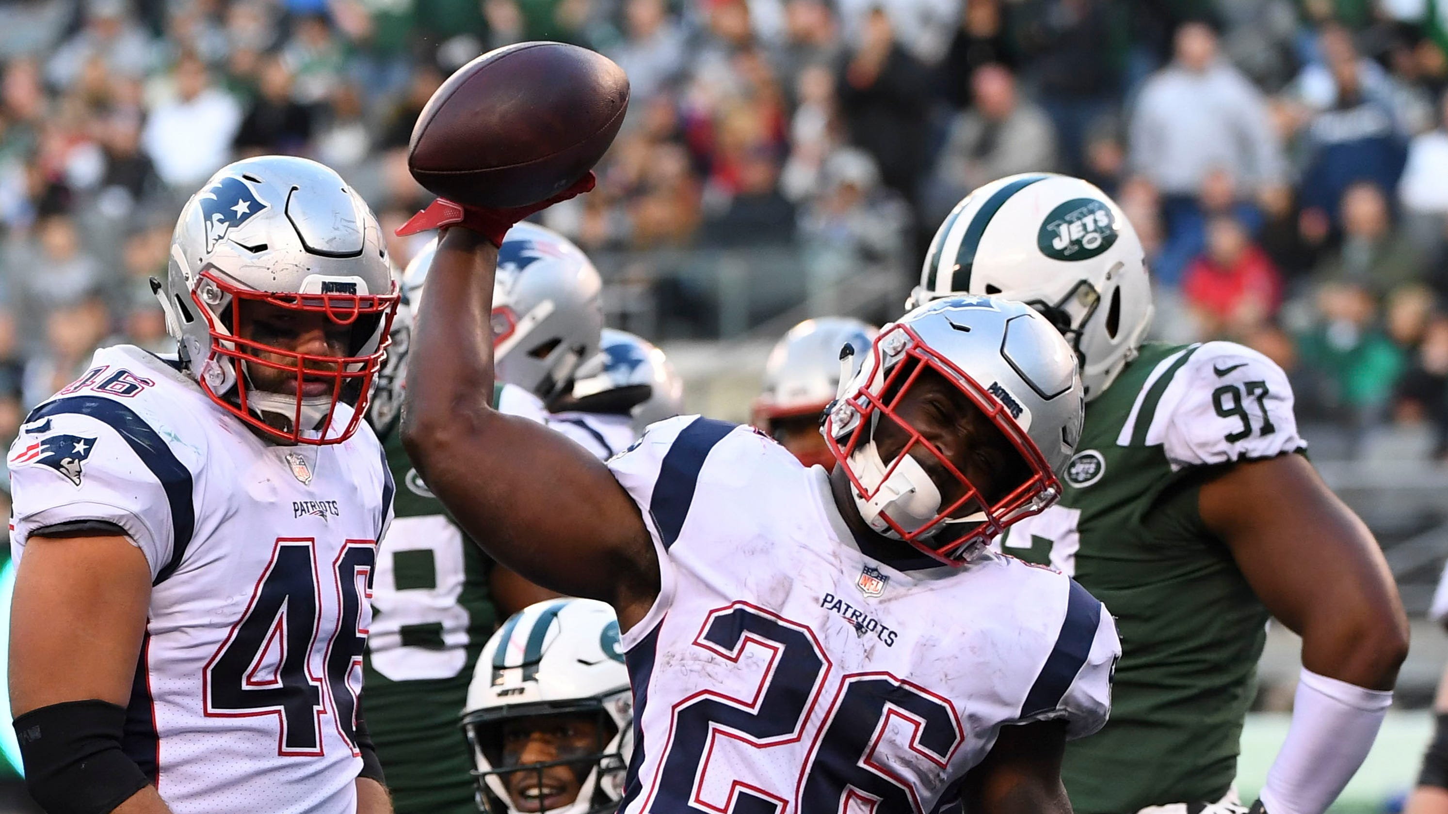 finest selection 64bb2 9dcb3 New England Patriots: Sony Michel emerges as X-factor for ...