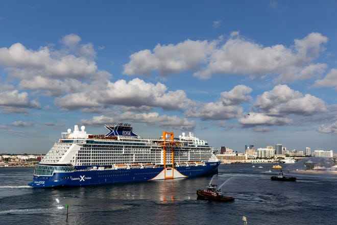 The first new Celebrity Cruises ship in six years, Celebrity Edge, also is the line's biggest vessel ever.