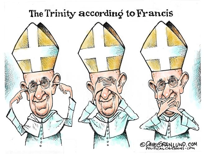 Pope Francis and scandals