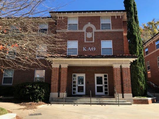 Dorm for Kappa Alpha Theta at Clemson.