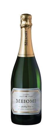 Meiomi sparkling wine is perfect for the holidays.