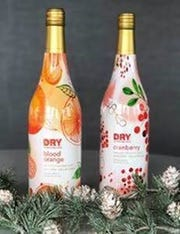 DRY Sparkling Winter Celebration bottles