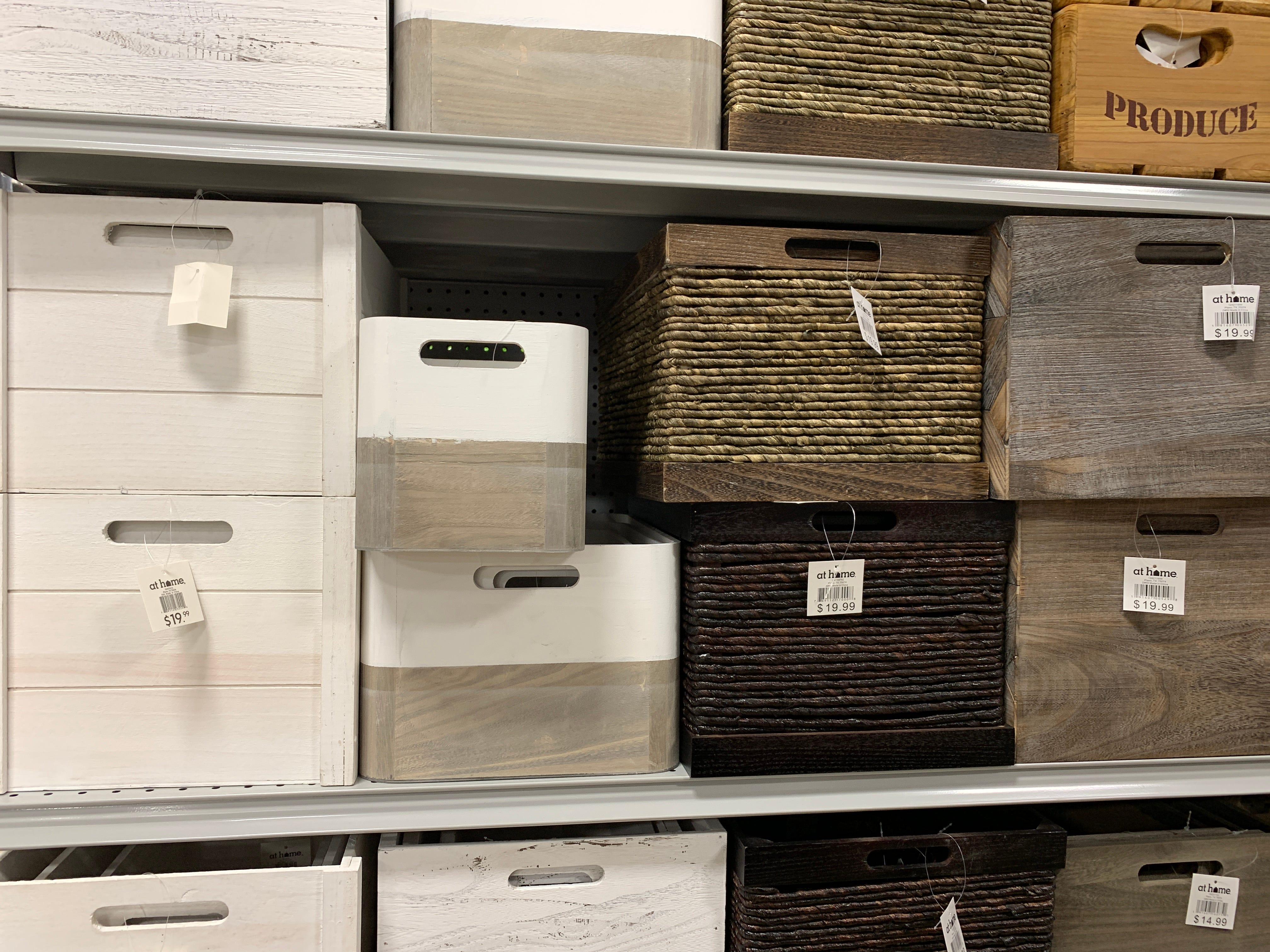 At Home, which bills itself as a home decor superstore, has opened at Laurel Square shopping center on Route 70 in Brick.