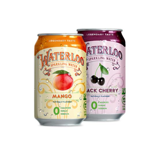Waterloo Mango and Black Cherry
