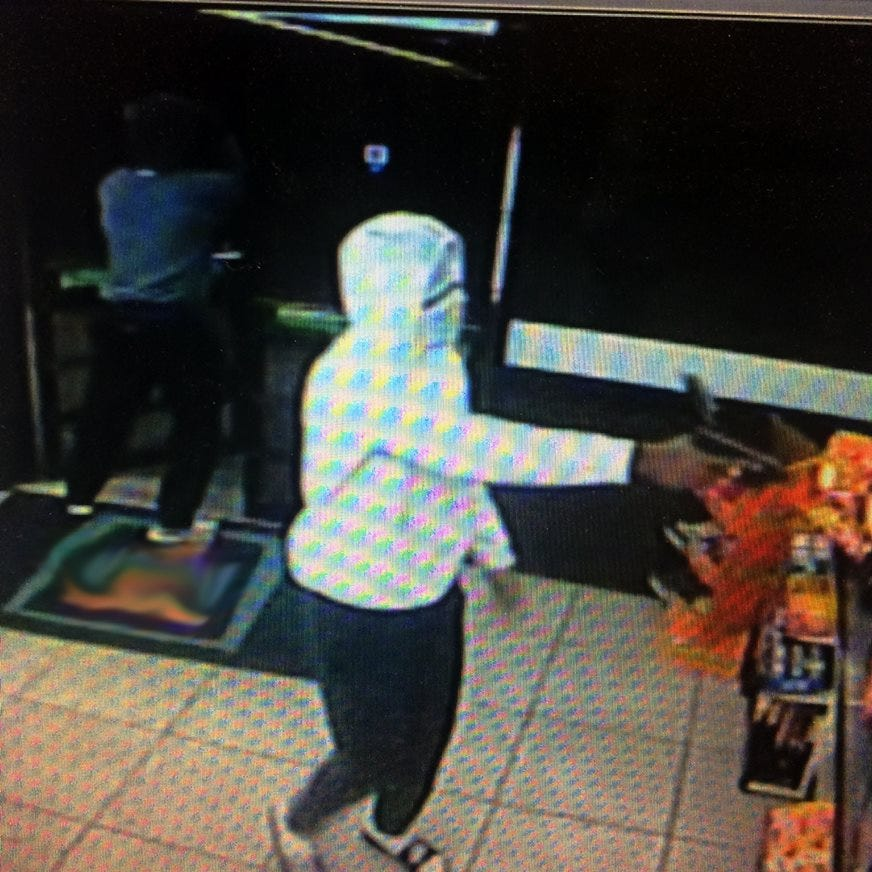 Two masked men fired gun at Abilene convenience store clerk