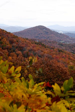Despite the September heat, we never fail to see an extravagant display of reds, yellows, purples and oranges — like in the Blue Ridge Mountains last year.