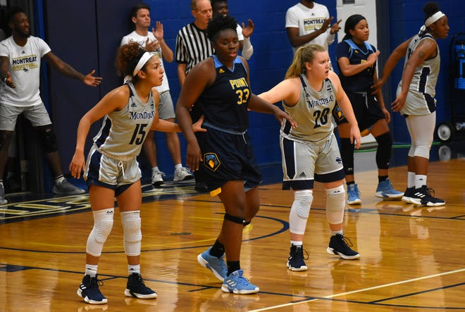 Arianna Williams, 15 and Katie Dillon, 20, helped the Montreat Cavaliers win three straight conference games heading into the team's Nov. 26 game on the road against Lees-McRae College.