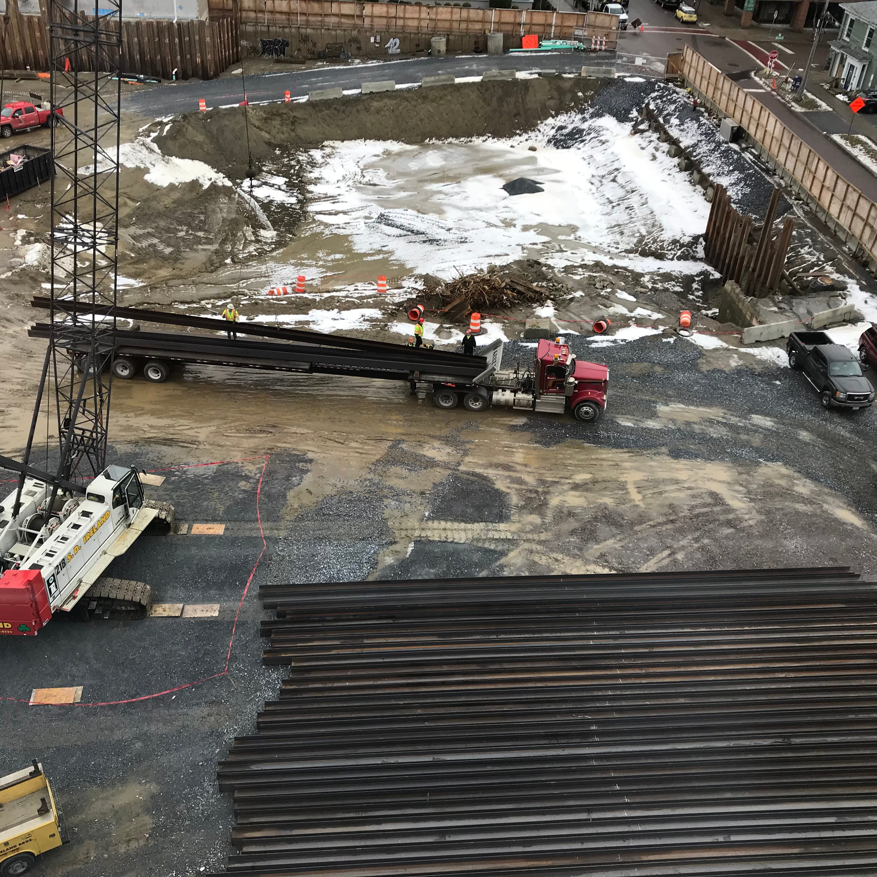 CityPlace steel shows up as scheduled; next steps still uncertain