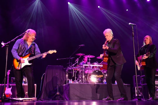 Three Dog Night performs  at the Midland Theatre on Friday night.