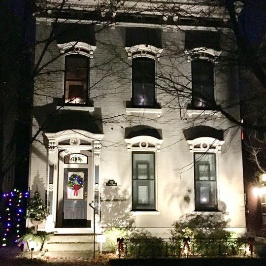 See Queen Anne and Italianate style homes on the East Row Victorian Christmas Home Tour.