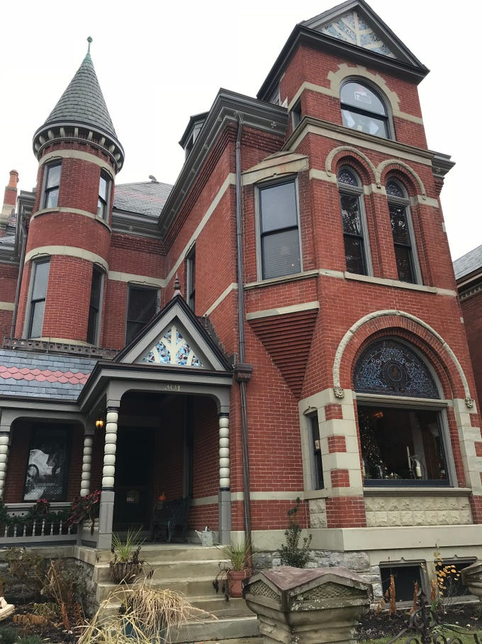 The German Victorian house of Jim Price on 301 Overton St., Nov. 25, 2018, will be on the East Row Victorian Christmas Tour.