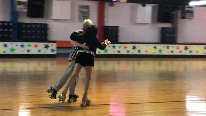 "At least twice a week, more than 20 seniors, including Eddie Daly of Newark and Betty ""Betty Boop"" SamMarco of Staten Island, regularly gather at South Amboy Arena and take to the rink for a couple hours of roller skating. They range in age from 55 to 100."