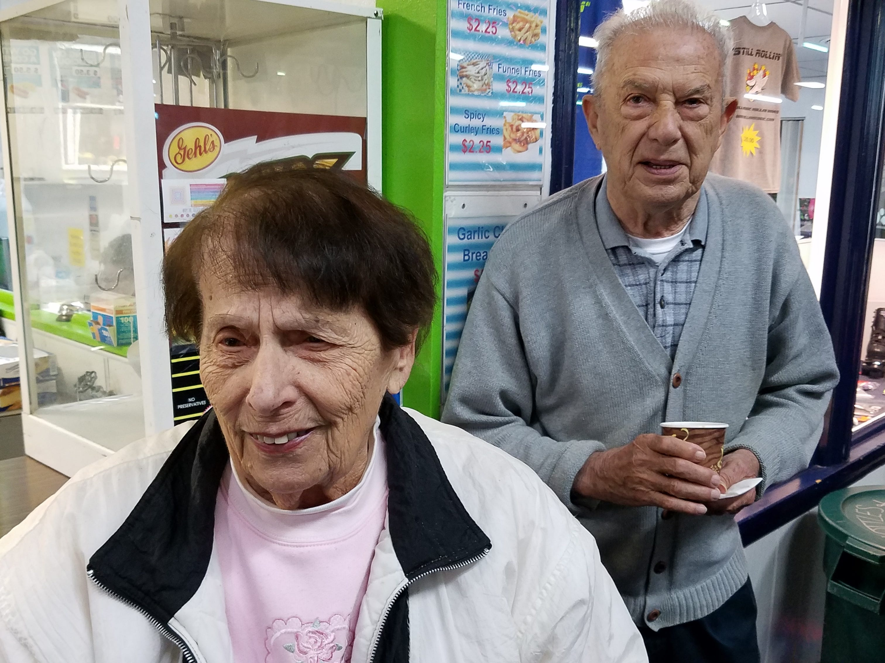 At least twice a week, more than 20 seniors, including Danny and Terry Yovanovich of Woodbridge, regularly gather at South Amboy Arenaand take to the rink for a couple hours of roller skating. They range in age from 55 to 100.