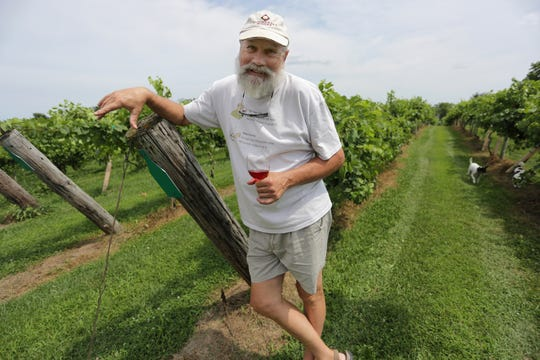 Summerset Winery owner Ron Mark.