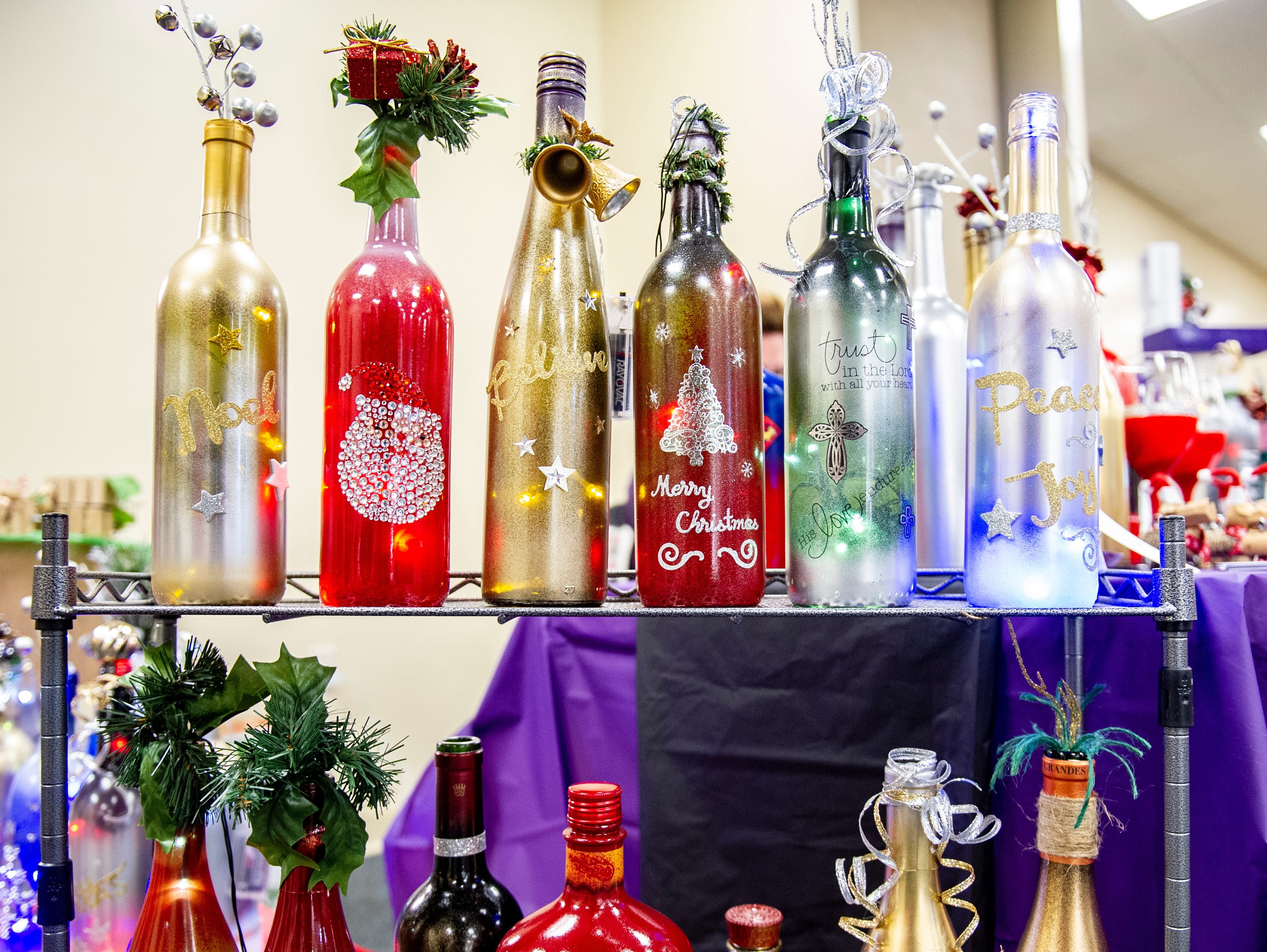 Rescued, recycled and re-purposed items all in the name of art was the name of the game at the Rustiqueiowa Homespun Holiday Market held at the Trinity Presbyterian Church in Indianola Nov. 24, 2018.