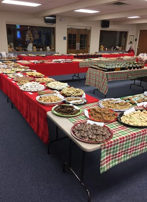 The 2017 Christ Lutheran Cookie Walk in Sterling Heights