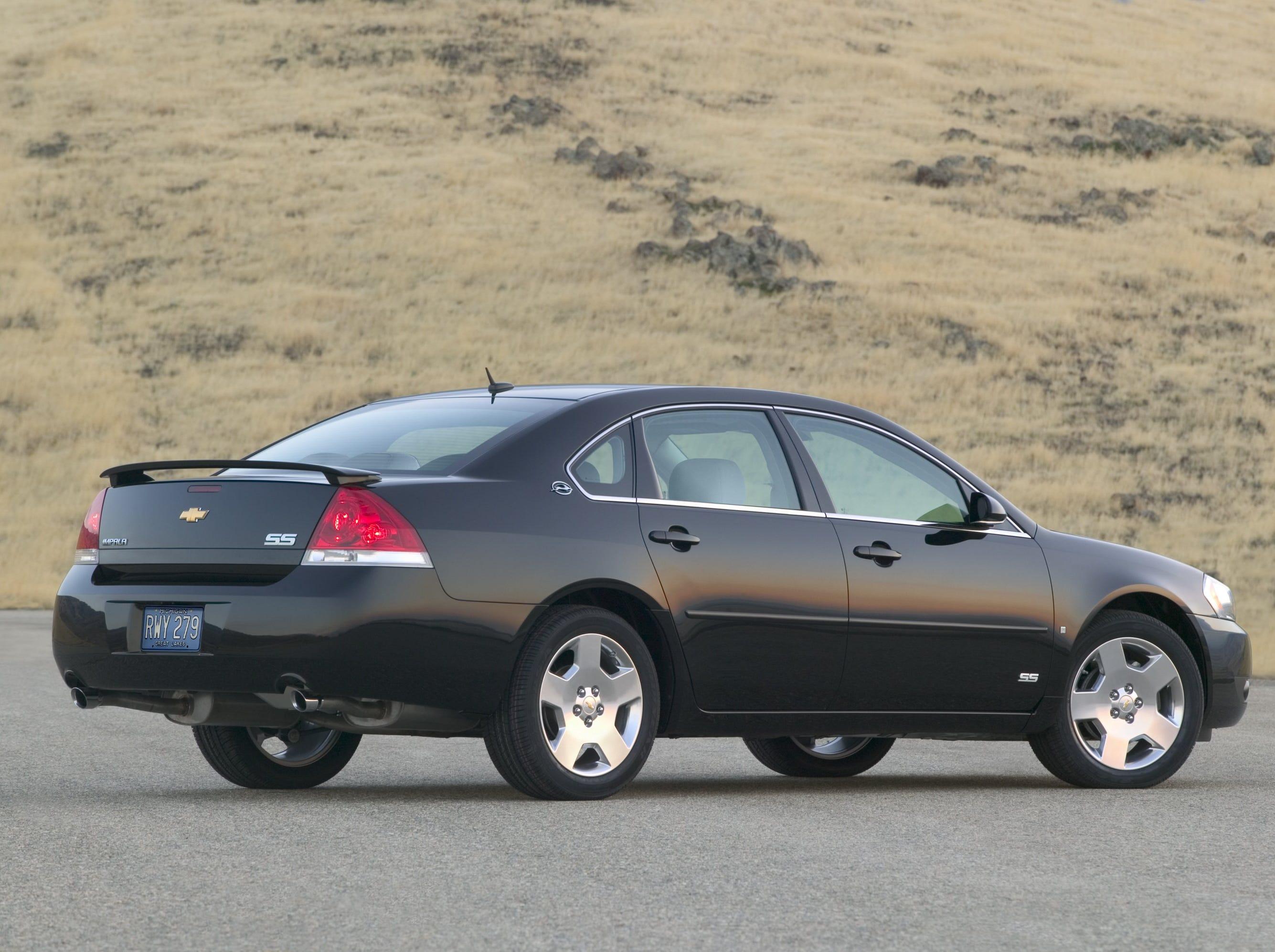 2008 Chevrolet Impala SS.