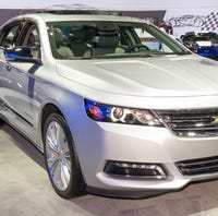 Chevy Impala discontinued as GM closes plants