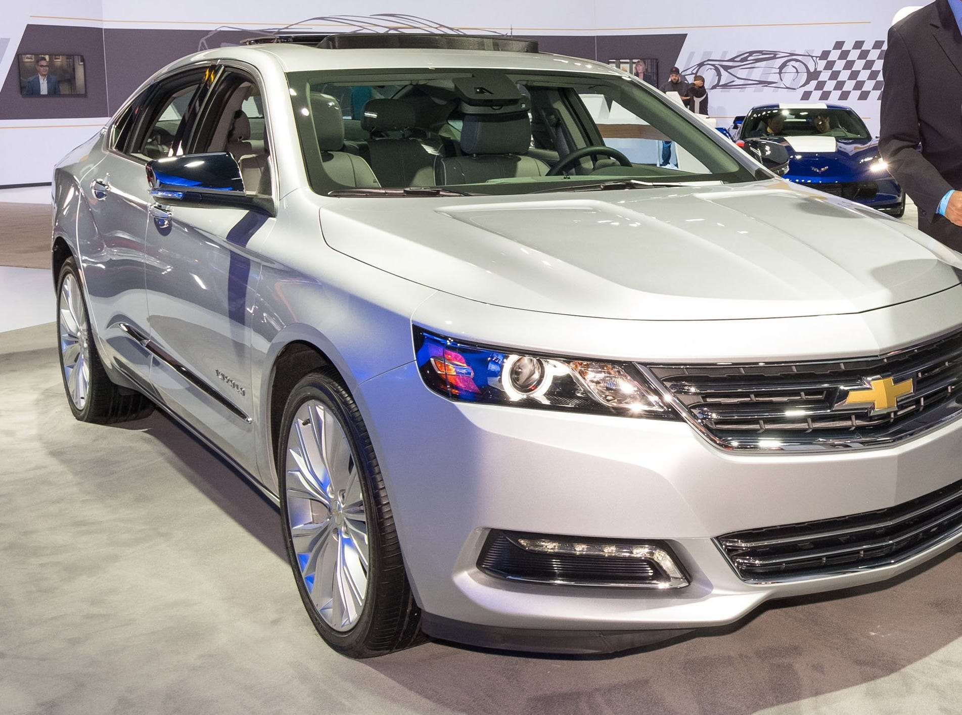 The 2017 Chevrolet Impala at the 2016 at Automobility LA - the press and trade days preceding the Los Angeles Auto Show in Los Angeles, California.