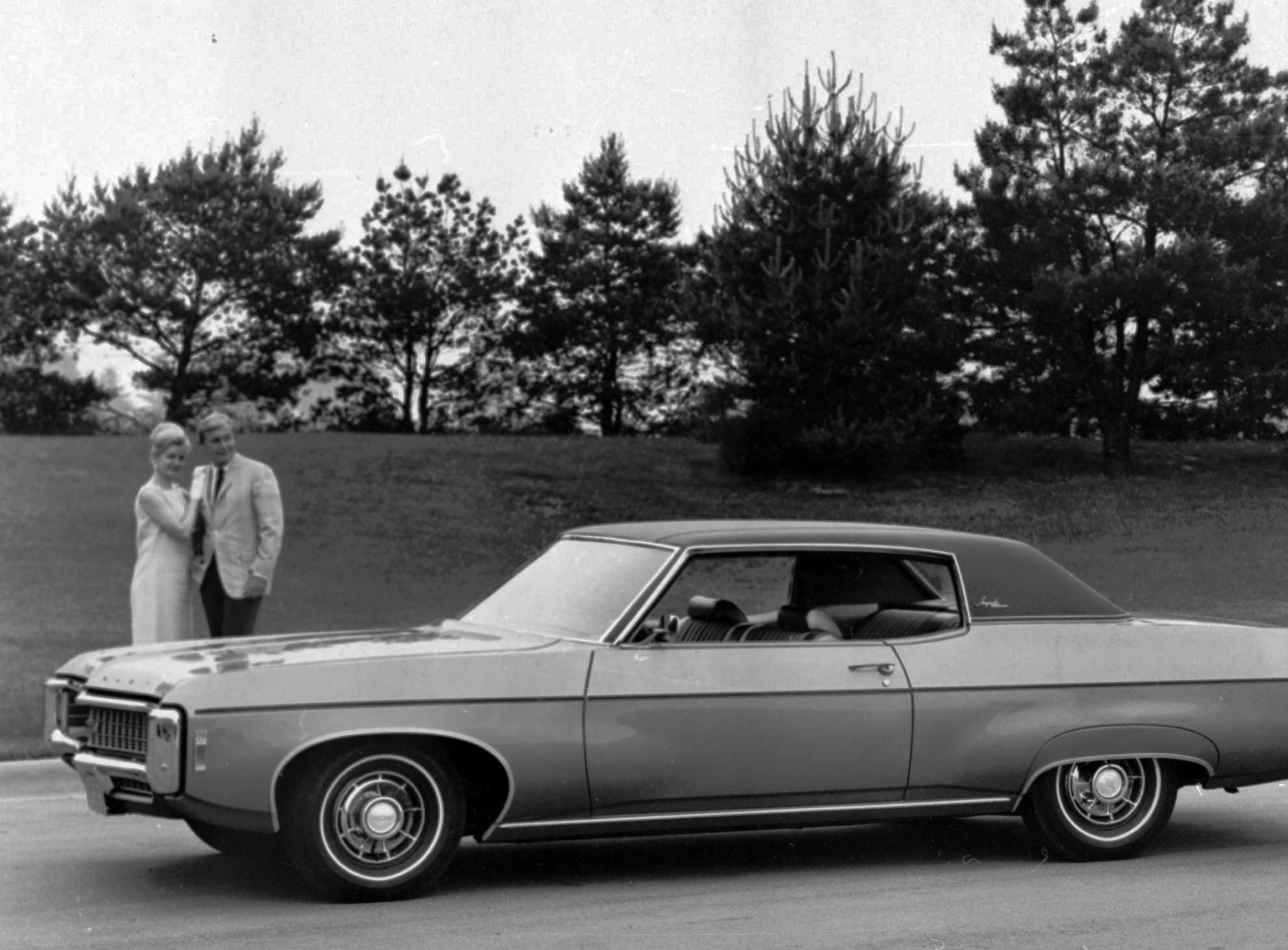 In this undated file photo provided by General Motors, as 1969 Chevrolet Impala Custom Coupe is shown.