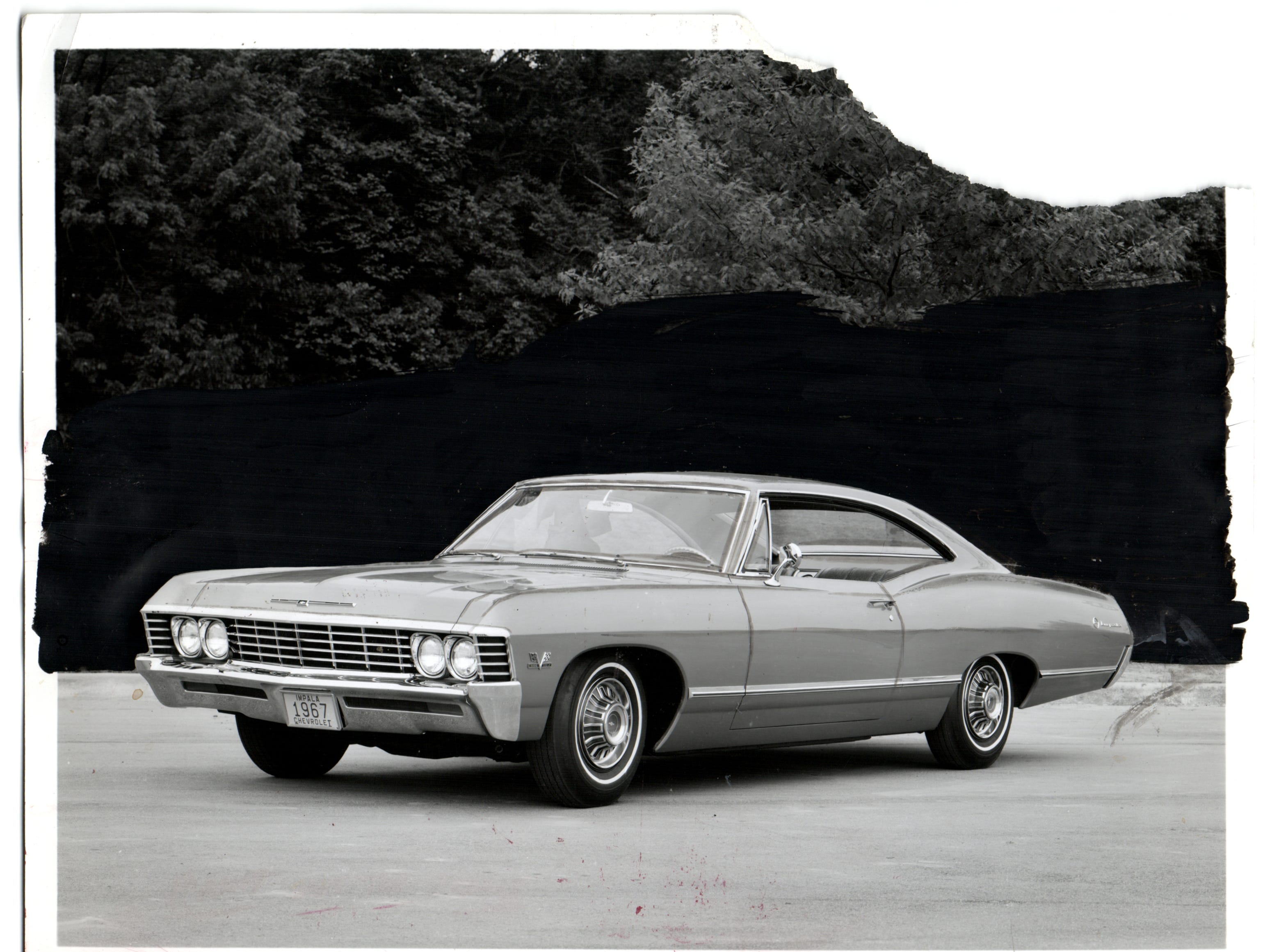 1967 Chevy Impala Sport Coupe.
