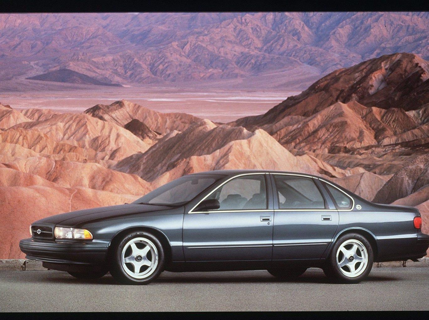 1995 Chevrolet Caprice Impala SS.