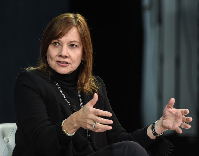 Mary T. Barra, chairman and CEO of General Motors