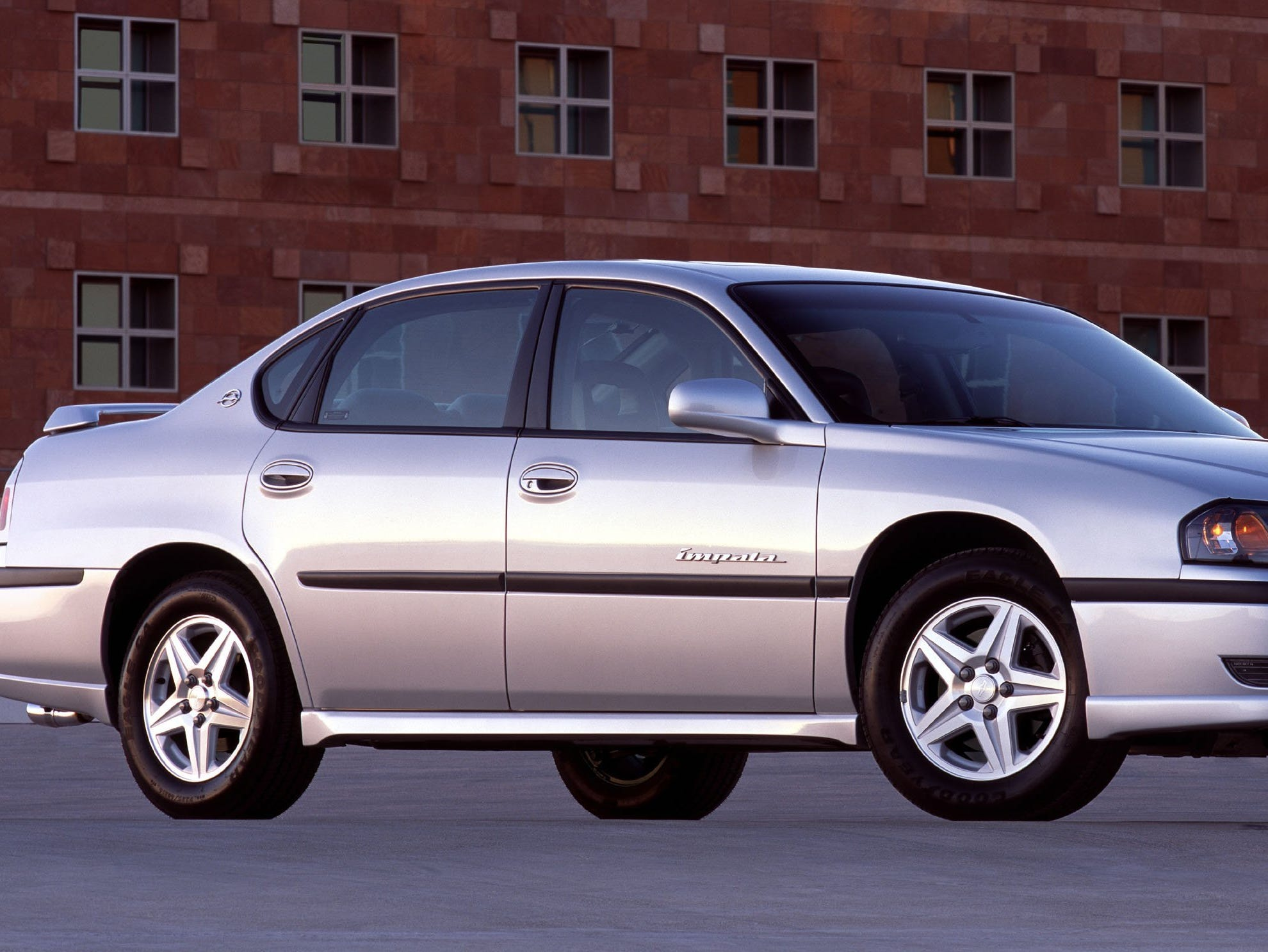 2003 Chevrolet Impala LS with Sport Appearance Package.