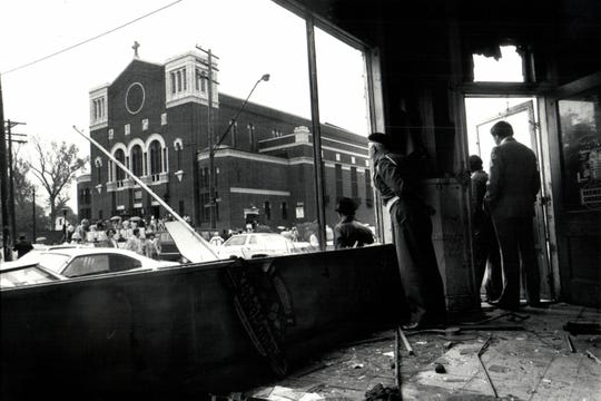 Immaculate Conception was condemned along with many homes, small businesses, a hospital and some other church buildings.