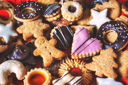 Mixed Christmas Cookies